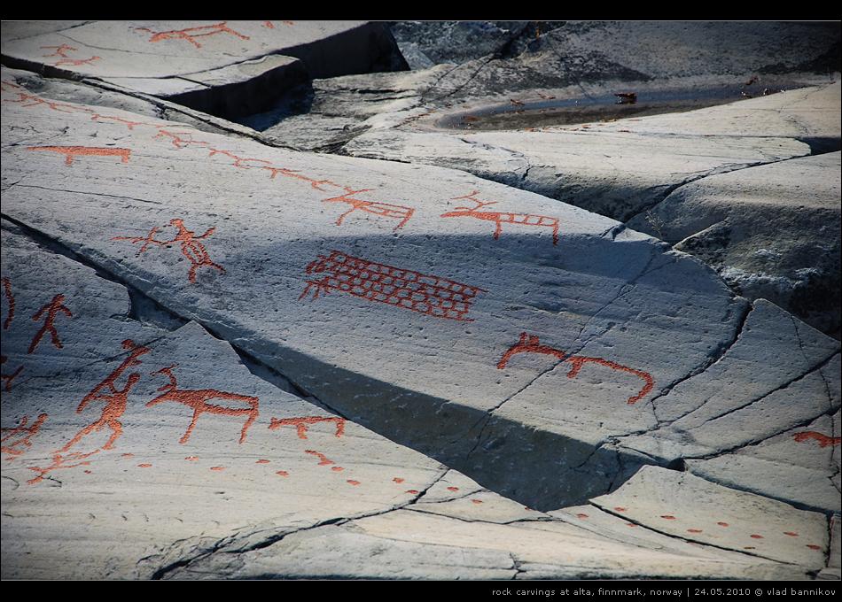 rock carvings at alta, finnmark, norway | 24.05.2010