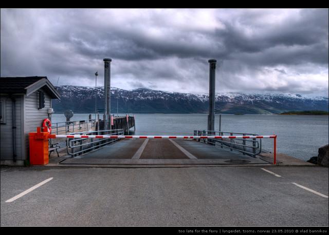 too late for the ferry | lyngseidet, tsoms, norway 23.05.2010 © vlad bannikov