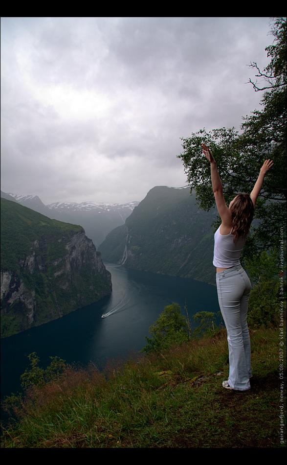 geirangerfjord, norway, 05.08.2007