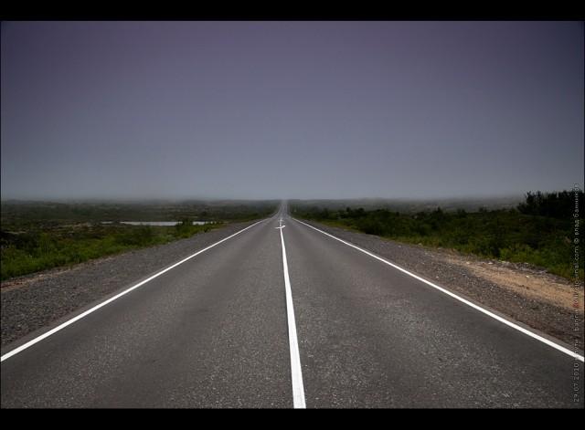 в пути (мурманск—печенга летом)