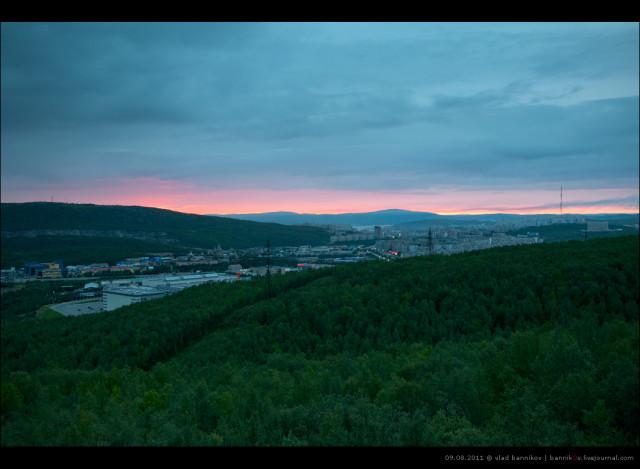закат | 09.08.2011