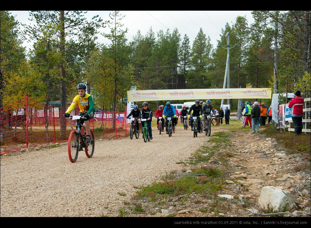 saariselkä MTB marathon 03.09.2011 | поехали