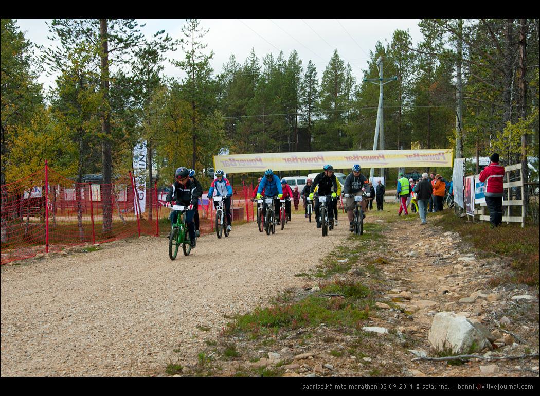 saariselkä MTB marathon 03.09.2011