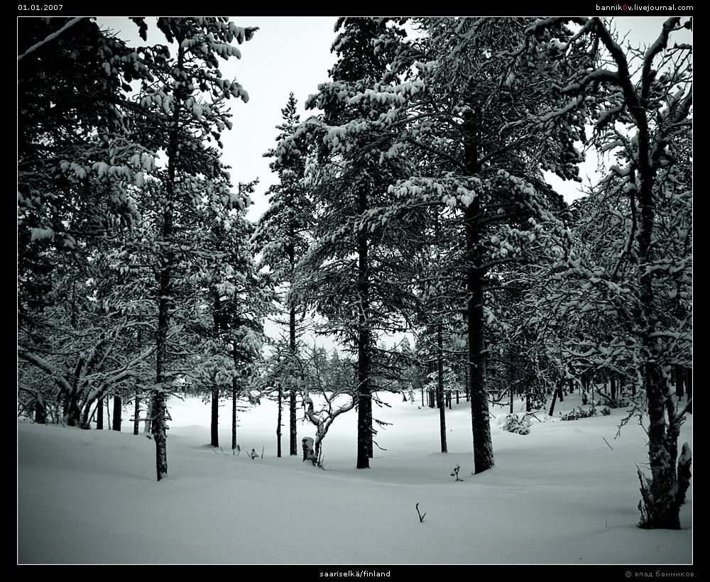 саариселька/финляндия (01.01.2007)