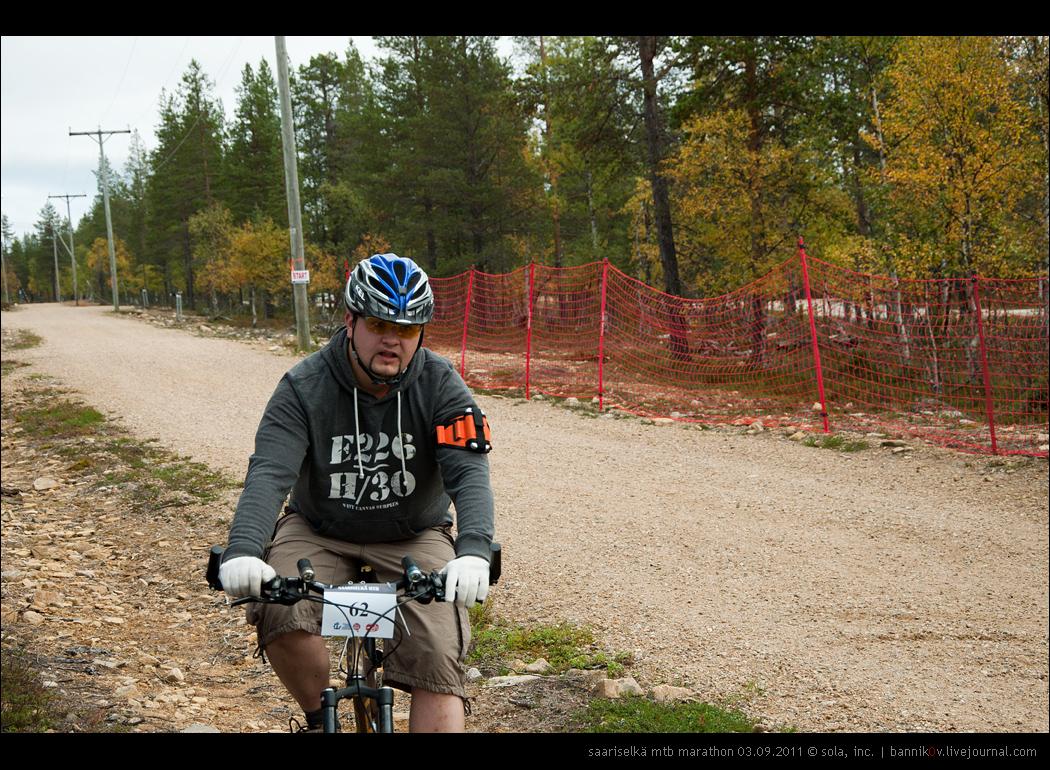 saariselkä MTB marathon 03.09.2011 | запарился