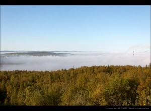 туманное утро 25.08.2012, первомайка, общий вид