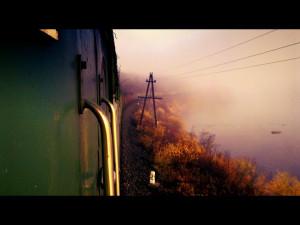 «Смотрю за поездом»