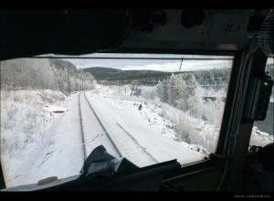 Вид из кабины