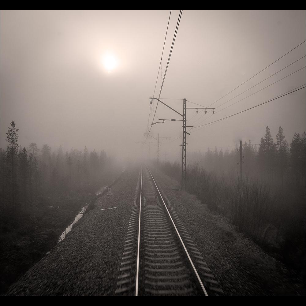 Октябрьский туман и грязная матрица