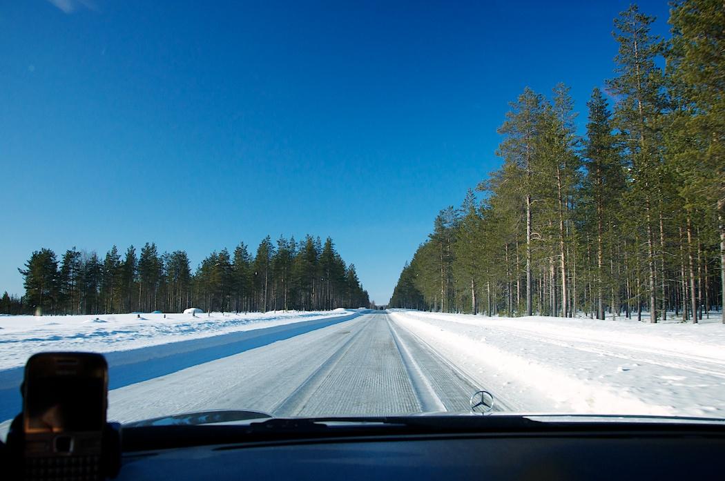 В пути по Финляндии (трасса №80)