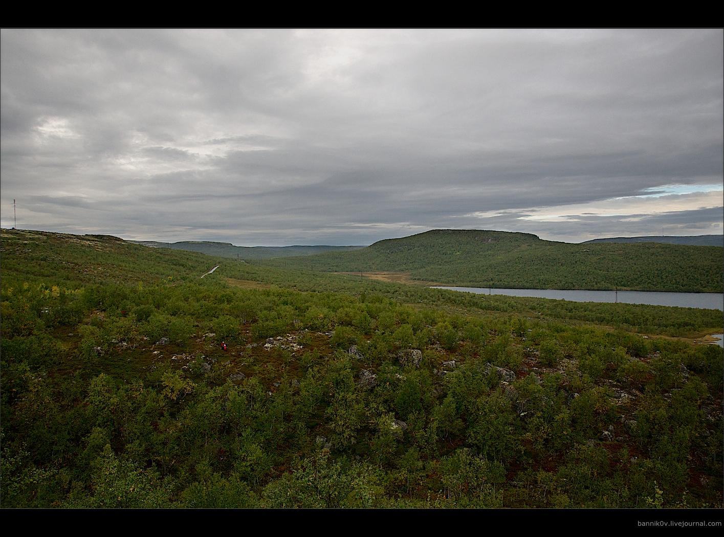43 километра от Мурманска