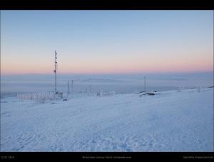 Встречаем солнце после полярной ночи в 2014-м (окрестности сопки Солнечной)
