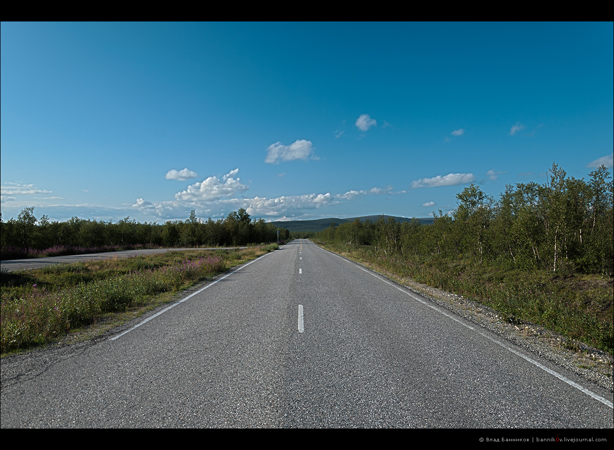 По финским дорогам (смотрим в сторону Норвегии)