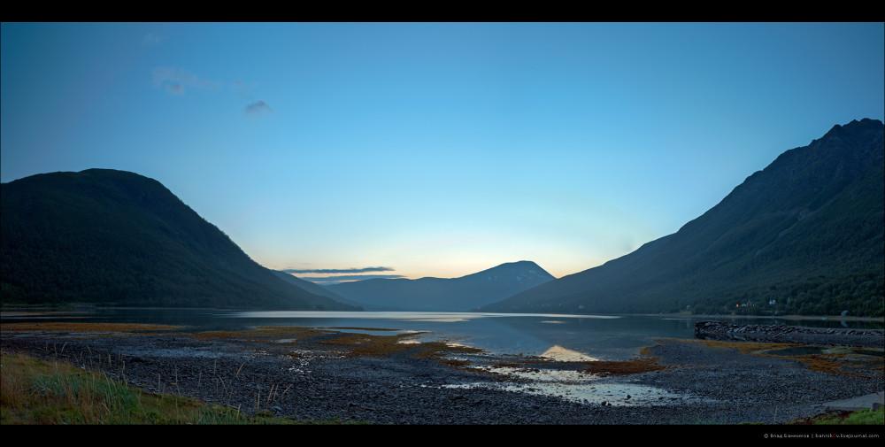 Ramfjord в сумерках