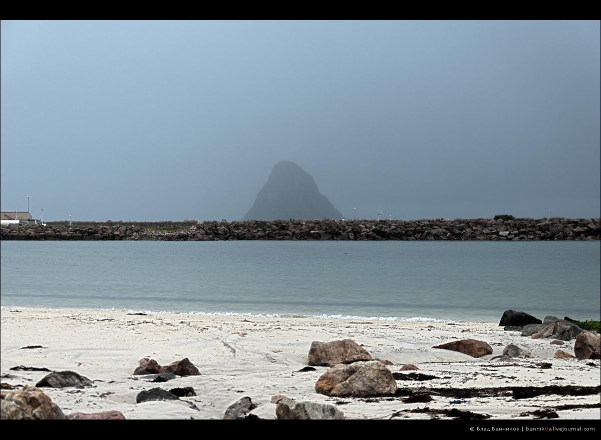 Остров в дожде