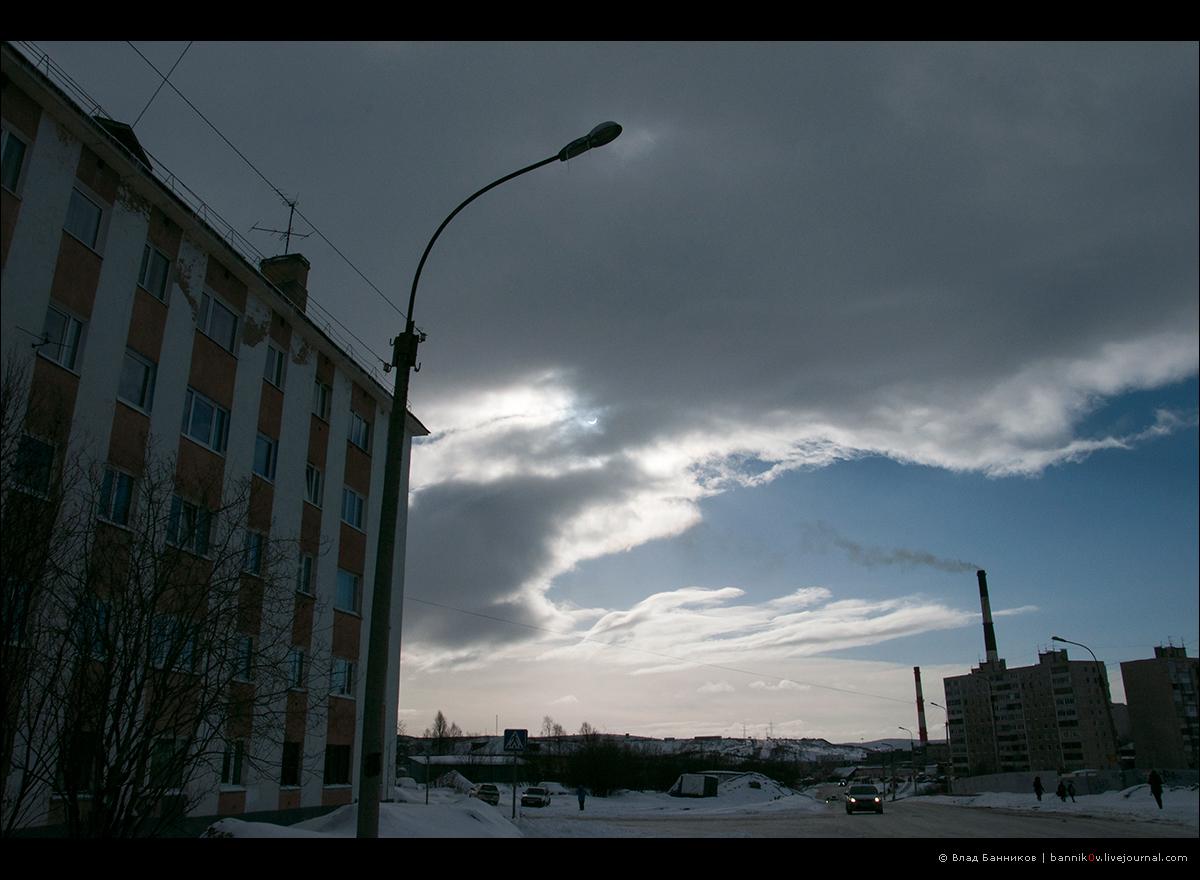 Солнечное затмение в Мурманске 20.03.15 2/3