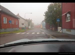 Туманные улицы Кируны
