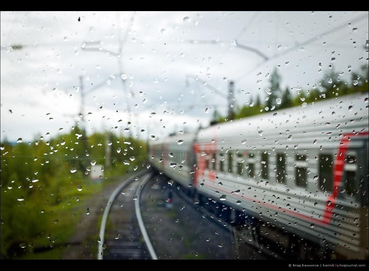 Обгон пассажирским по Лапландии