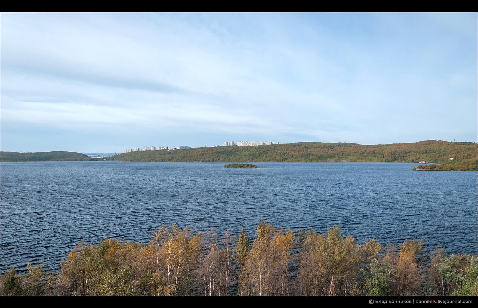 Озеро Питьевое (с востока)