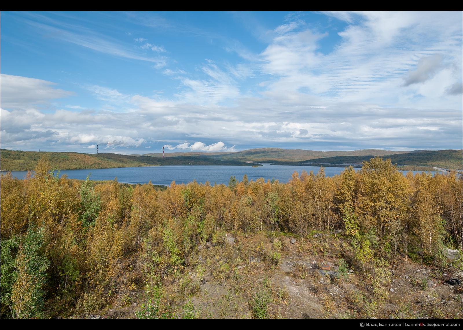 Озеро Питьевое (с юга)