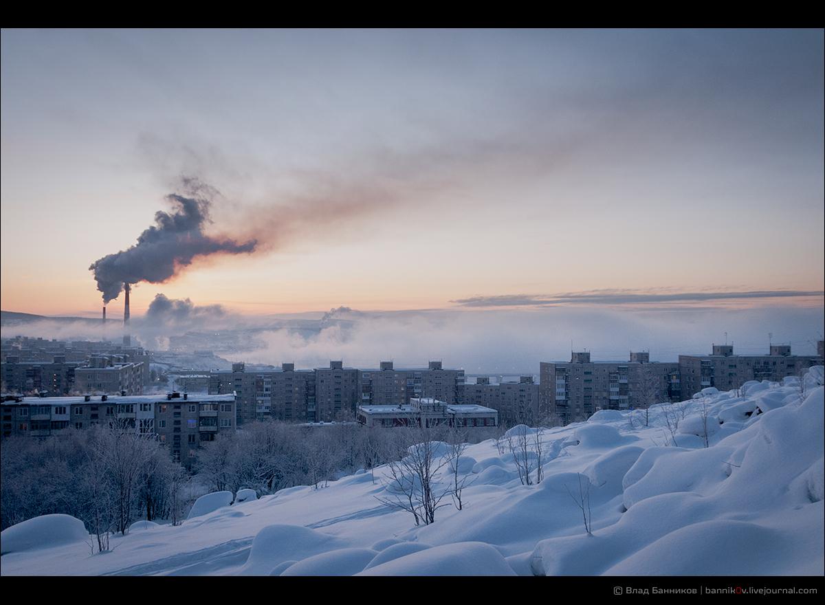 3-е января 2017. Южная котельная, Первомайка и мороз