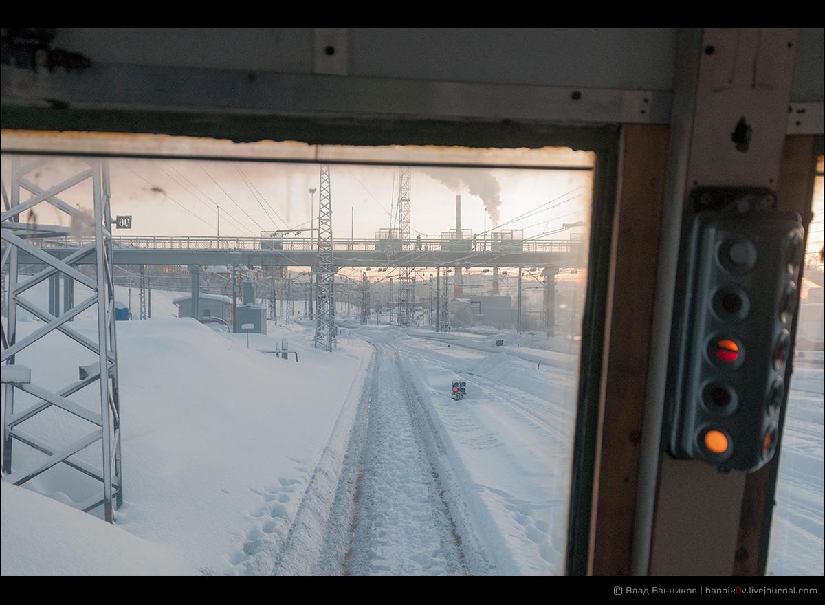 На отправлении с 5-го пути ст, Мурманск