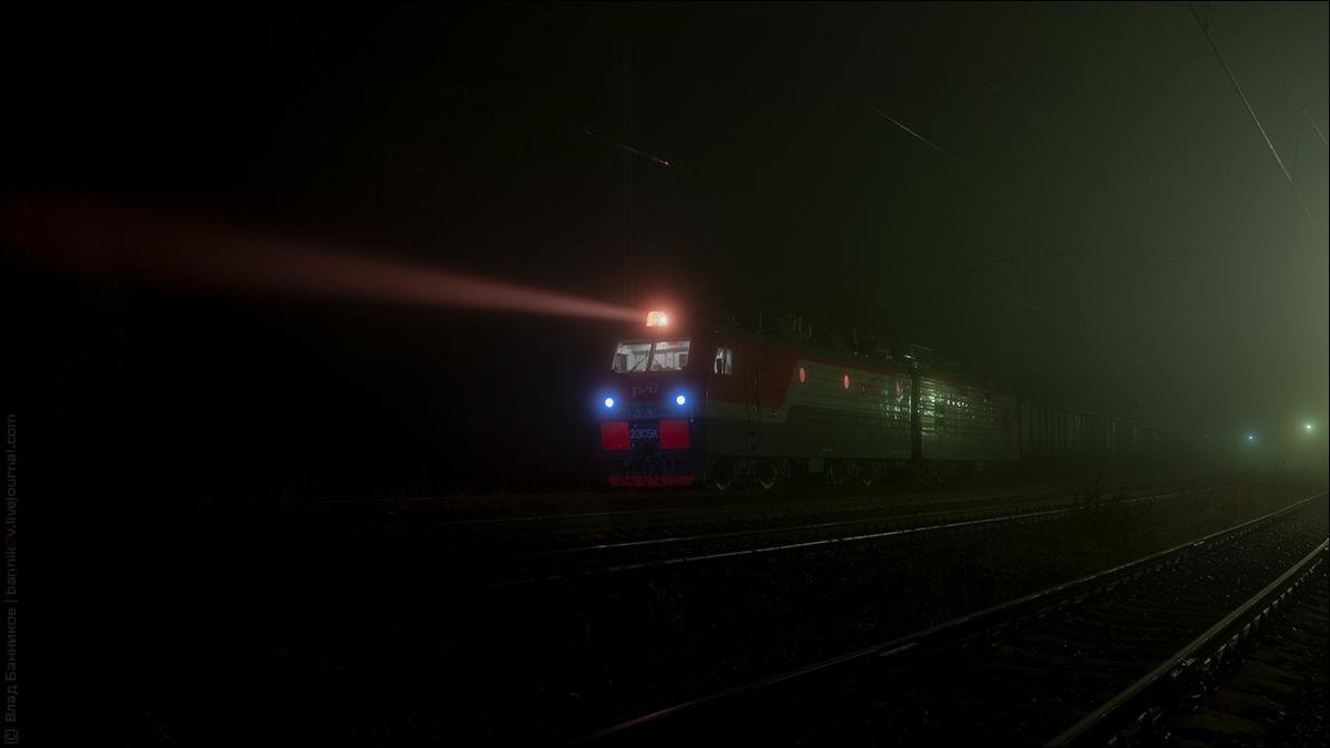 2ЭС5К-355 на 3-м по Лопарской