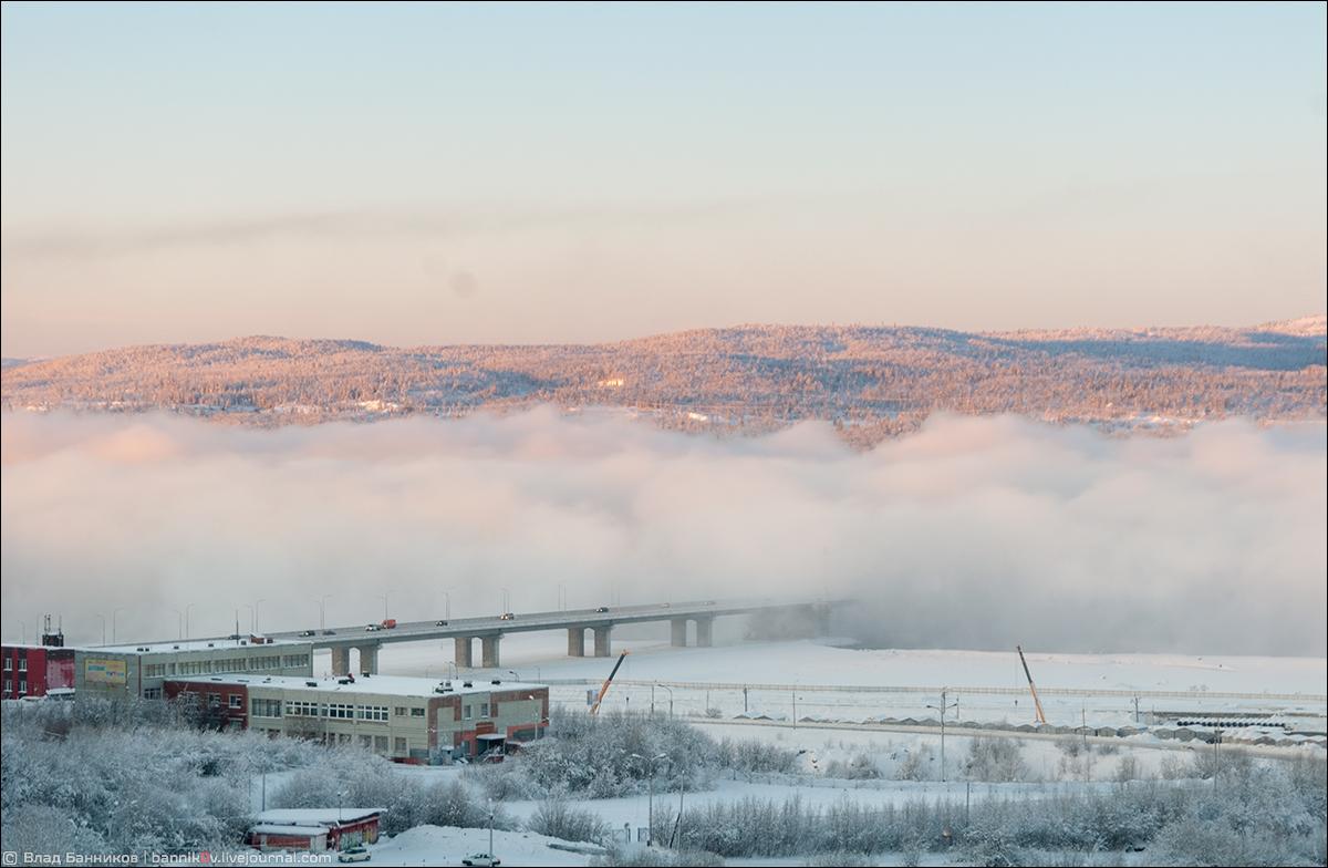Туман вблизи