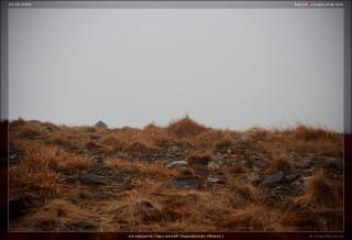 на вершине горы лисьей (мурманская область)