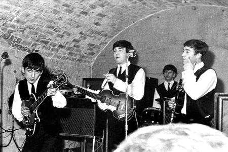 Image result for beatles played at the cavern