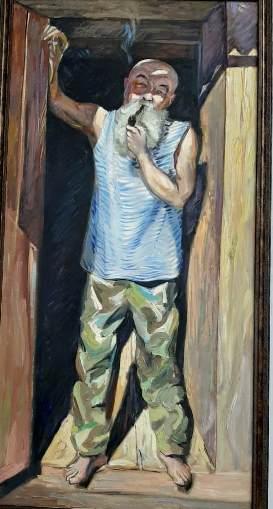 """2. """"Портрет Василия Елесина"""". Протопопов В. В. Новокузнецк."""