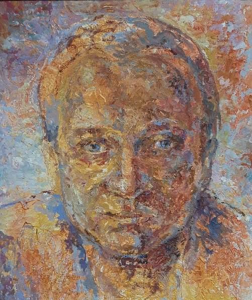 "1. ""Мужской портрет"". Соснина Е. В., Томск."