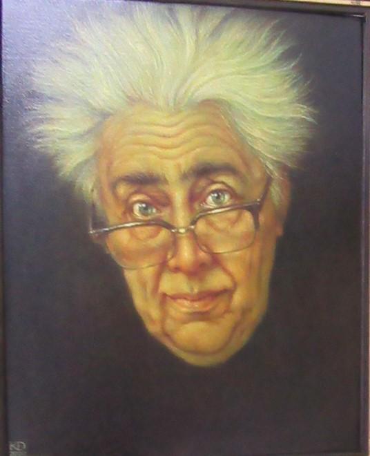 Автопортрет художника. (60*50 см). Масло, холст.