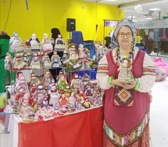 Мастер по изготовлению кукол - Тамара Рафикова, г. Кемерово