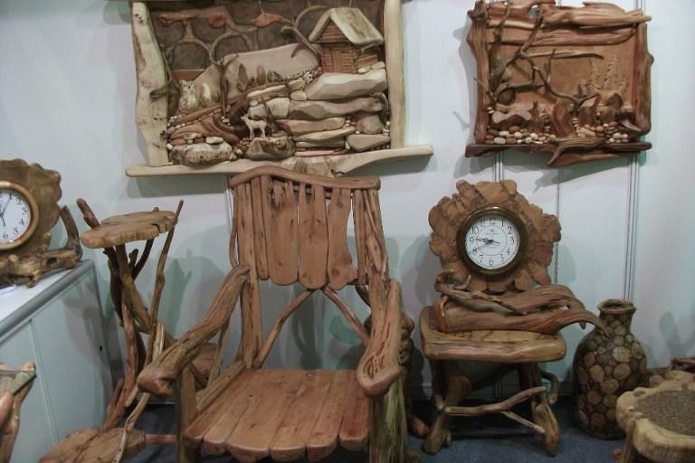 Мебель, созданная вручную, от мастера по дереву и бересте - Хворостинина Виктора.