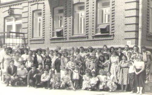Первое крещение в Хабаровске