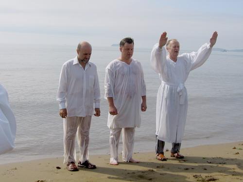 крещение Сергея Полякова