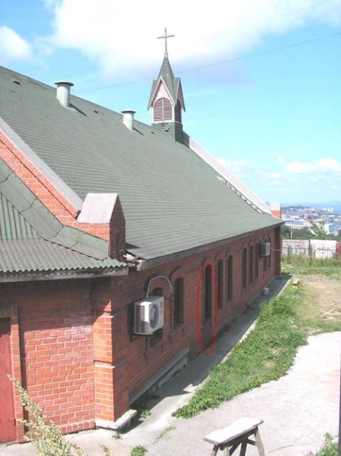Попытка поджега церкви