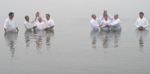 крещение у баптистов