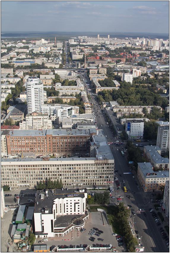 Екатеринбург. Высоцкий