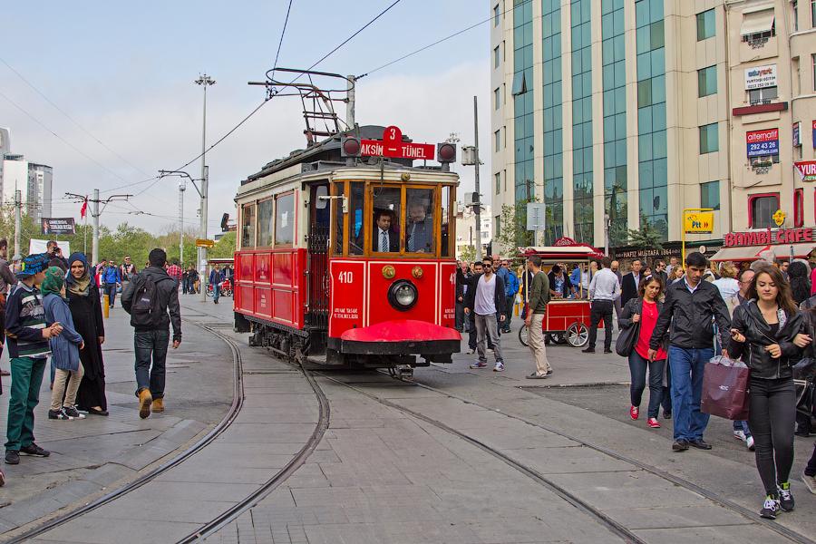 Стамбул - ретро трамвай