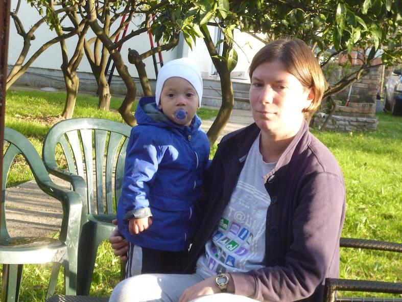 Вася и мама