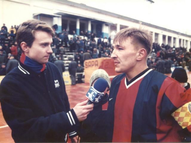 Алексей Барановский и Валерий Соляник
