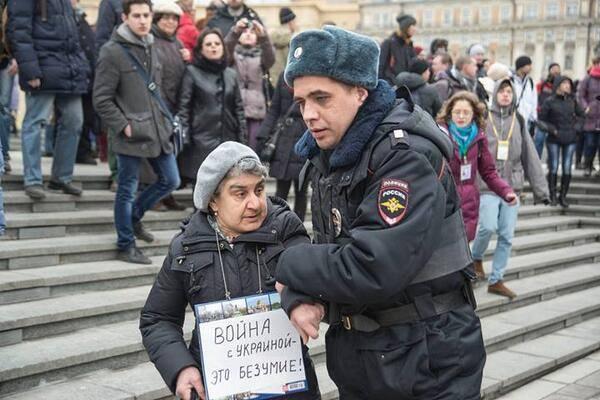 Москва, 2 марта 2014