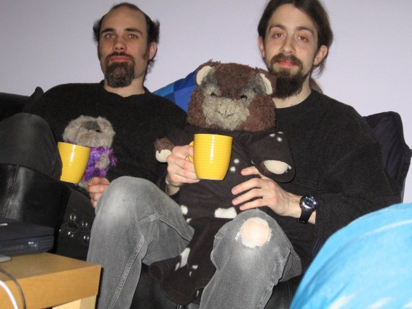 Eddy, Mookiee, Richard and Paploo - and tea.