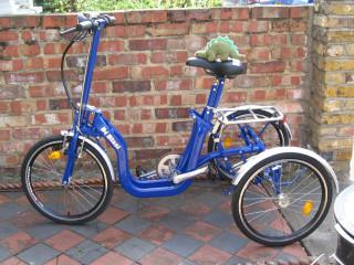 Di Blasi folding tricycle