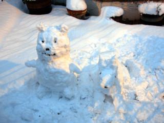 Snow Wuzzie and Wolfy