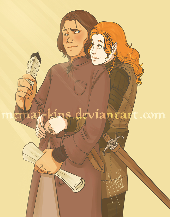 Martin & Alix as drawn by memai-kins.deviantart.com