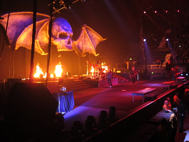 A7X and Pyro