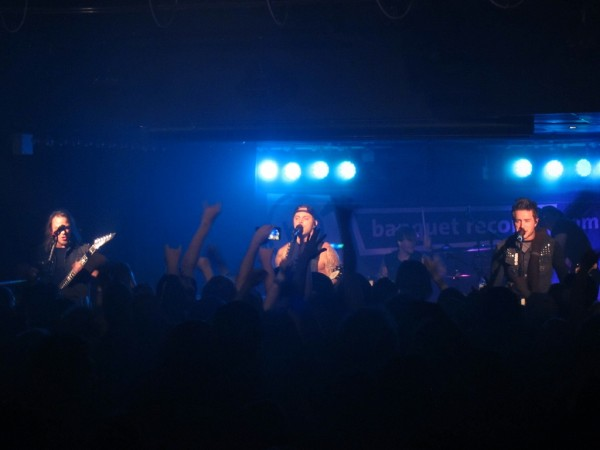 Bullet For My Valentine onstage at Kingston Hippodrome 2015-09-21